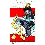 炎炎ノ消防隊 フルHD(1080×1920)スマホ壁紙/待受 森羅 日下部(シンラ・クサカベ)
