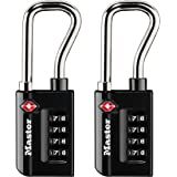 Master Lock Set Your Own Resettable Numeric Combination TSA Accepted Luggage Lock, 4696T