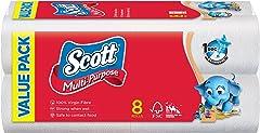 Scott Value Multi Purpose Towels, 55ct (Pack of 8)