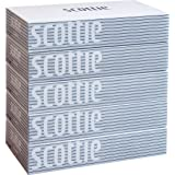 【ケース販売】 スコッティ ティシュー 400枚(200組) 5箱 ホワイトパッケージ ×12パック入り