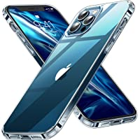 CASEKOO iPhone 12 Pro Max 用 ケース 6.7 インチ クリア 米軍MIL規格 耐衝撃 SGS認…