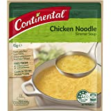 CONTINENTAL Simmer Soup  Chicken Noodle, 45g