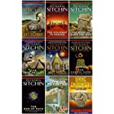 A Complete Zecharia Sitchin Earth Chronicles Nine-Book Series Set, Includes: Twelfth Planet, Stairway to Heaven, War of Gods