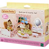 Sylvanian Families 5285 Bedroom & Vanity Set Furniture Toy