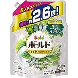 ボールド 液体 柔軟剤入り 洗濯洗剤 グリーンガーデン&ミュゲ 詰め替え 約2.6倍分(1.53kg)