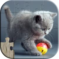 Cute Cat Puzzles for Kids - Full version (Freetime Edition) - Fun and Educational Jigsaw Puzzle Game for Kids and Preschool Toddlers, Boys and Girls 2, 3, 4, or 5 Years Old