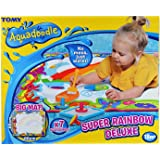 Aquadoodle Super Rainbow Deluxe Large Water Doodle Mat, Official Tomy No Mess Colouring & Drawing Game, Suitable for Toddlers