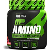MusclePharm Amino 1 Powder, Hydration and Recovery, Fruit Punch, 30 Servings