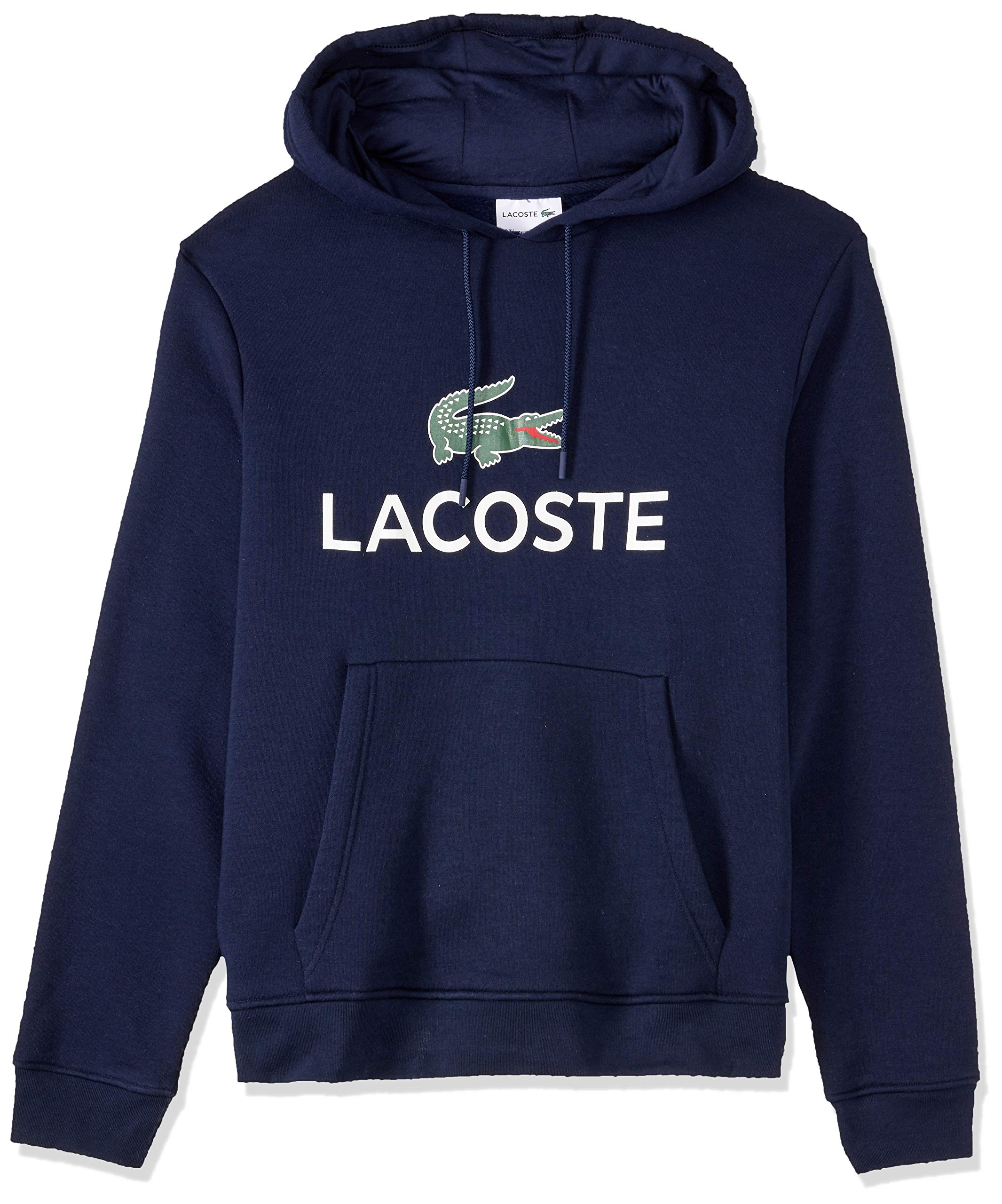 Lacoste Men's Hooded Logo Pullover