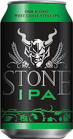 アメリカ クラフトビール業界のカリスマ ブリュワリーの看板商品 ストーンIPA 355ml x 24本 【アメリカ クラフトビール】