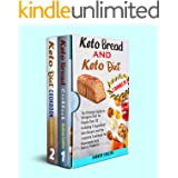 keto diet and keto bread :2 books in 1 : The Ultimate Guide to Ketogenic Diet for People Over 50 Including 5-Ingredient Keto
