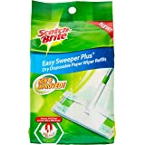 Scotch-Brite Q600RD-EP (VP) Easy Sweeper Dry Refill, Green, Pack of 3