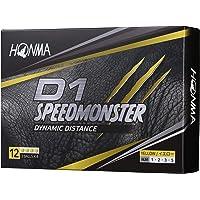 本間ゴルフ HONMA ゴルフボール D1 SPEED MONSTER スピードモンスター 1ダース 12個入
