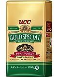 UCC ゴールドスペシャル キリマンジャロブレンド コーヒー豆 (粉) 1000g レギュラー(粉)