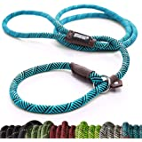 Friends Forever Extremely Durable Dog Rope Leash, Premium Quality Mountain Climbing Rope Lead, Strong, Sturdy Comfortable Lea