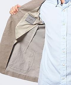 Corduroy Patch Pocket Jacket 1122-110-4113: Beige