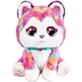 VTech Hope The Rainbow Husky, Interactive Soft Toy for Children, Soft Plush Toys for Sensory Play, Cute Dog Plush Toy for Gir