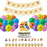 Winnie The Pooh Party Supplies For Kids Pooh Bear Theme Birthday Party Decorations Supplies Set of 56