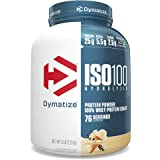 Dymatize ISO100 - 100% Hydrolyzed Whey Protein Isolate - Gourmet Vanilla, 2.3kg/5lbs
