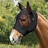 Harrison Howard Horse Fly Mask-Piano Black