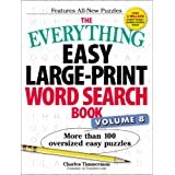 Everything Easy Large-Print Word Search Book, Volume 8: More Than 100 Oversized Easy Puzzles