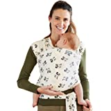 Moby Wrap Baby Carrier | Mickey Mouse | Baby Wrap Carrier for Newborns & Infants | #1 Baby Wrap | Keeps Baby Safe & Secure |
