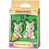 Sylvanian Families 5080 Chocolate Rabbit Twin Babies,Figure