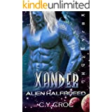 Xander Alien Halfbreed: A SciFi Romance (Human Female Abduction Book 1)
