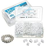 750 PCS 150 Sets 2.0mm JST PHR - 2 / 3 / 4 Pin Housing and Female Pin Header Terminal Connector Kit Two-Sided Compartment Par