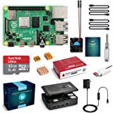 LABISTS Raspberry Pi 4 Complete Starter Kit with Pi 4 Model B 4GB RAM Board, 32GB Micro SD Card Preloaded Noobs, 5V 3A Power