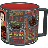 Edgar Allan Poe Coffee Mug - Poe's Most Famous Quotes and Writings - Comes in a Fun Gift Box - by The Unemployed Philosophers