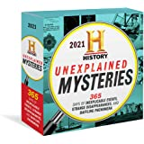 2021 History Channel Unexplained Mysteries Boxed Calendar: 365 Days of Inexplicable Events, Strange Disappearances, and Baffl