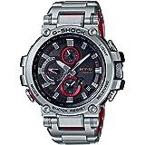 [カシオ]CASIO 腕時計 G-SHOCK ジーショック MT-G Bluetooth 搭載 電波ソーラー MTG-B1000D-1A シルバーxレッド メンズ コンビカラーベルト [並行輸入品]
