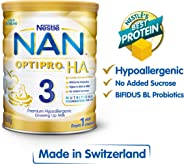 Nestlé NAN OPTIPRO Stage 3 H.A. Toddler Milk Formula, 1-3 years, 800g