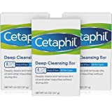 Cetaphil Deep Cleansing Face & Body Bar for All Skin Types,Pack of 3