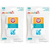 Munchkin Arm & Hammer Pacifier Wipes, 2 Pack, 72 Wipes