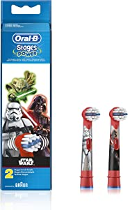Oral-B Stages Star Wars Replacement Electric Toothbrush Heads Refill, 2 pack