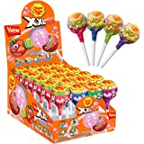 Chupa Chups XXL Trio, 20 Lollipops, Perfect for Sharing, Parties and Christmas, 20 x 29 g, Strawberry, Apple, Cola, Tutti Fru