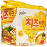 Paldo Cheese Noodles, 115g (Pack of 4)