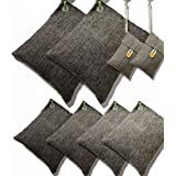 DTXDTech Bamboo Charcoal Air Purifying Bags Activated Charcoal Bags Odor Absorber Moisture Absorber Car Air Freshener Shoe De