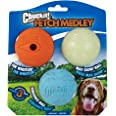 Chuckit! 20520 Fetch Medley Balls, 3 Count, Medium, 2.5-Inch