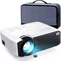 APEMAN 小型 プロジェクター LED 4000lm 1080PフルHD対応 180インチ大画面 スマホ/パソコン…