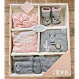 Welcome Baby Girl , Unique Baby Gift, Baby Girl Basket, Baby Girl Gift Box, Baby Girl Set, Infant, Newborn Girl Gift Set. Pin