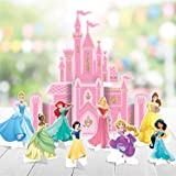 Amscan Disney Princess Once Upon A Time Table Decorating Kit, Pink, One Size