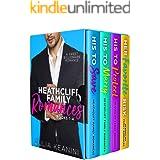 Heathcliff Family Romances Books 1-4: A Sweet Billionaire Romance Boxset