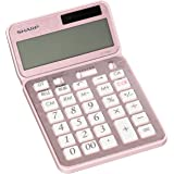シャープ 電卓50周年記念モデル ナイスサイズモデル ピンク系 EL-VN82-PX