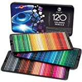 SJ STAR-JOY 120 Colored Pencils for Adult Coloring Books, Premier Coloring Pencils Set with Vibrant Color for Adults, Perfect