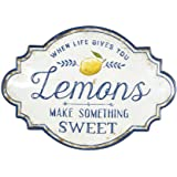 Creative Co-Op When Life Gives You Lemons Make Something Sweet Metal Wall Décor