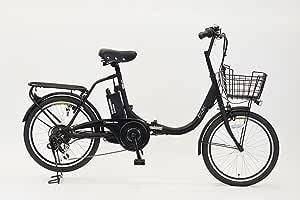 エイサン(EISAN) 折りたたみ電動自転車 swifti-20 ブラック 20インチ 6段変速 8.4Ahリチウムイオンバッテリー搭載