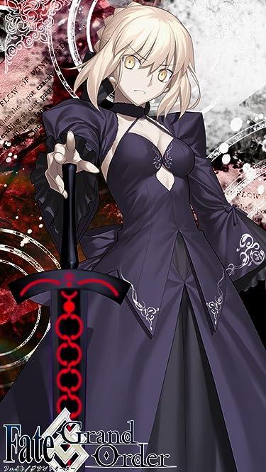 Fate  iPhone/Androidスマホ壁紙(640×1136)-1 - FGO アルトリア・ペンドラゴン[オルタ]